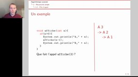 1.2 Introduction recursivité: pile d'appel