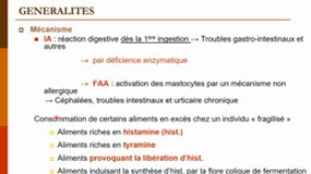 Réactions adverses aux aliments - Master 2 QAIS - 2020-2021