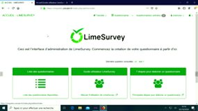 Formation limesurvey